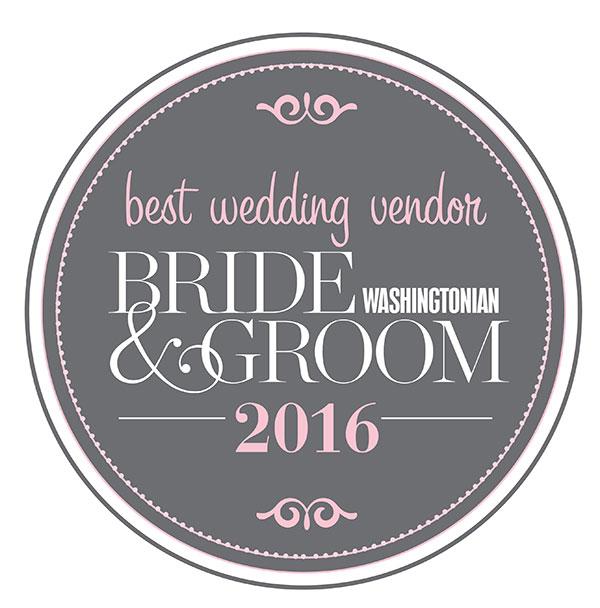 Washingtonian - bride & groom - best wedding bendor 2016