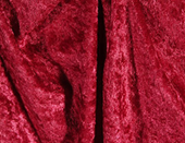 Burgundy Crushed Velour